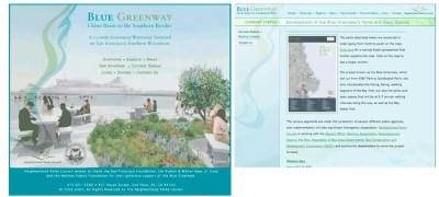 Blue Greenway program website