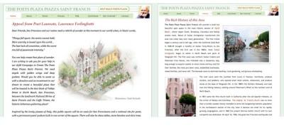 Poets Plaza website Design